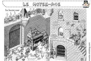 Coloriage Chevalier Cp.Le Moyen Age L Ecole De Crevette