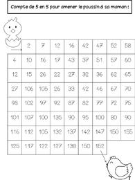 Cahier de vacances de Printemps jeu compte 5 ce1 cp