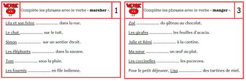Accords sujet / verbe