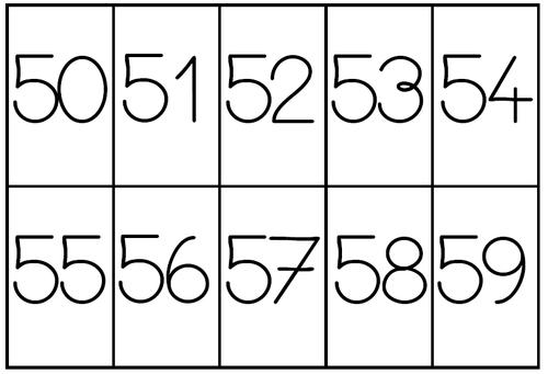 Rangement des nombres dans l'ordre croissant
