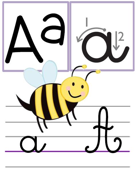 Affichage Alphabet Pour La Classe L Ecole De Crevette