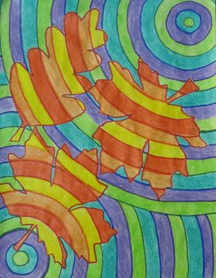 L\'automne et les couleurs chaudes et froides - L ecole de crevette