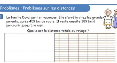 Problèmes de distances