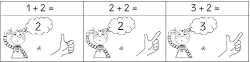 """Calcul mental """"Dans la tête et sur les doigts"""""""