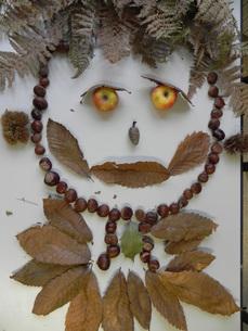 arcimboldo feuilles automne