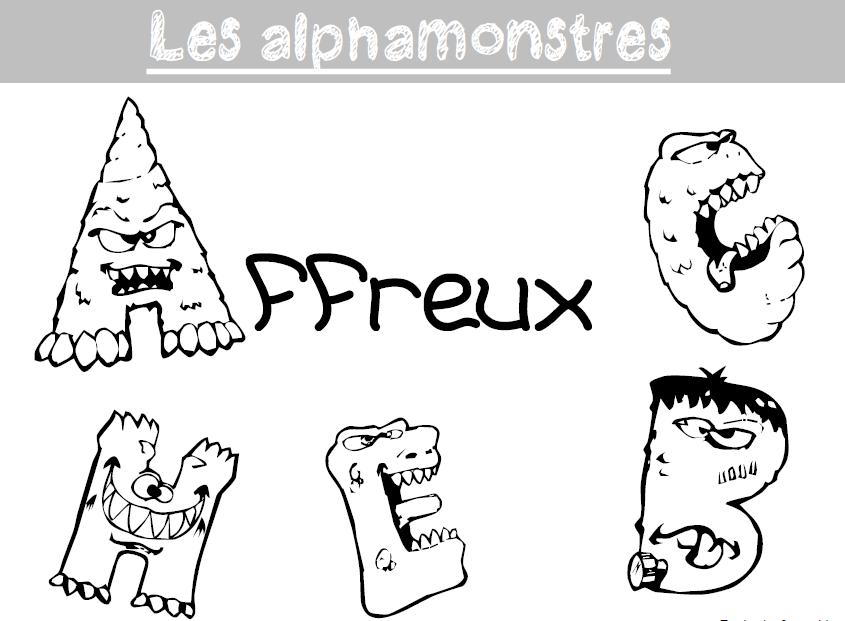 Production D Ecrits Autour Des Monstres L Ecole De Crevette