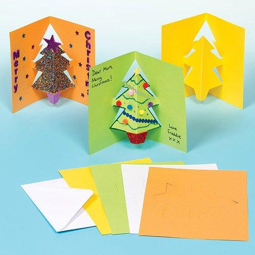 carte de noel cp Cartes de Noël en pop up   L ecole de crevette