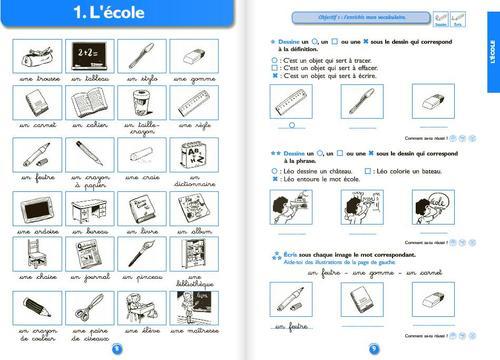 Réussir son entrée en vocabulaire CE1