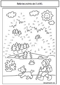 Cahier de vacances d'hiver
