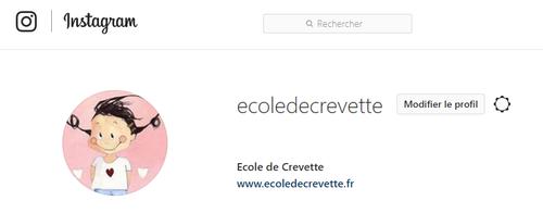 Suivez-moi sur Instagram !!!