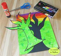 Productions d'arts visuels autour de l'automne