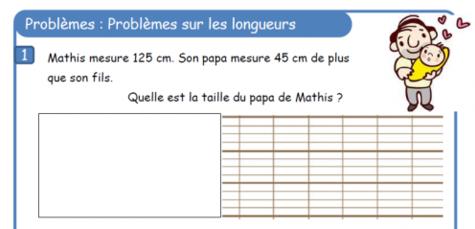 Problemes De Longueurs L Ecole De Crevette